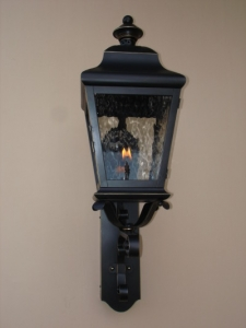 Custom, Made-to-Order, Gas and Electric Exterior Light Fixtures