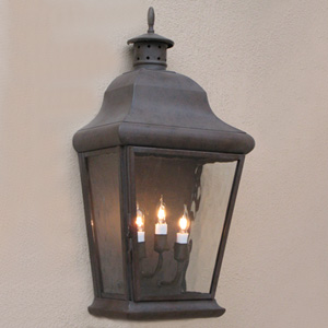 Customlightstyles Flush wall mount lantern. WB5950-5954