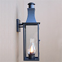Custom made-to-order outdoor lantern for Alexandria, VA by customlightstyles