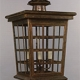 Custom, made-to-order, historical ceiling mounted brass lantern for Napa, CA by customlighstyles