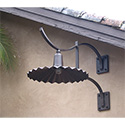 Custom created and produced outdoor exterior wall lantern for Santa Rosa, CA by customlightstyles